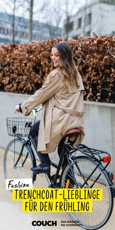Trenchcoats sind nicht nur zeitlose Klassiker, sondern auch unsere liebsten Begleiter im Frühling. Unsere Community-Mitglieder zeigen euch ihre tollsten Outfits rund um den schicken Mantel! 🧥😊 (Foto: liviabass) #trenchcoat #fashion #mantel #klassiker #zeitlos #COUCHstyle