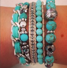 Turquoise Arm Band