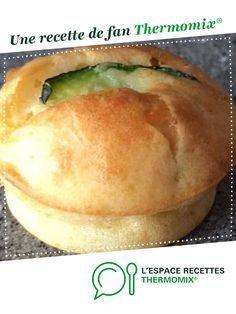Muffins au Chèvre et à la Courgette par grevir. Une recette de fan à retrouver dans la catégorie Entrées sur www.espace-recettes.fr, de Thermomix®.
