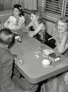 Café Society, 1941 — detail of this picture