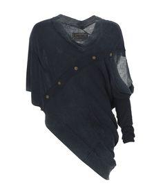 asymmetrical sweater