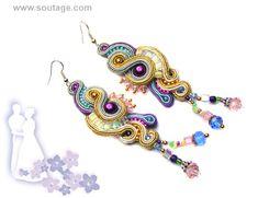 Rio de Oro earrings by SoutageAnka on Etsy, zł300.00