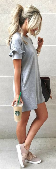#tshirt #dress #casualstyle