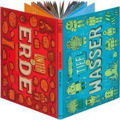 Unter der Erde, tief im Wasser, Moritz Verlag  Buchrezension   afilii - Design for kids