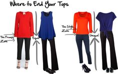 Where to end your tops