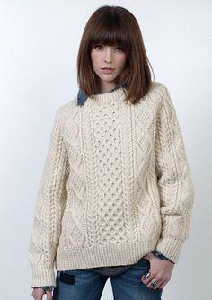 Irish sweater - Ashley Rose Helvey. tis' beautiful. | A/W OUTFITS ...