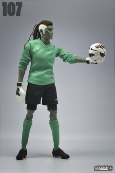 """The Puppet Master """"Iniesta"""" / 2012 on Toy Design Served"""