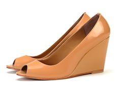 Taramay Demi-Wedge Peep Toes