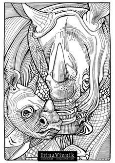 Amazon Manic Botanic Zifflins Coloring Book 9781523692057