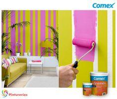 Te damos una idea para aplicar el litro de pintura #Comex que te regalamos. Regalón Regalitro en tu hogar. ¡Participa! #ComexPinturerías