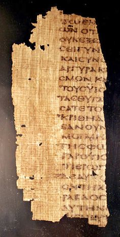 Carbon dating biblical manuscripts