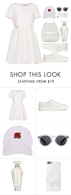 """Untitled #171"" by lvlyuniqorn ❤ liked on Polyvore featuring Christian Dior, Simone Rocha, Armitage Avenue, Illesteva, Victoria's Secret, Native Union and Versace"