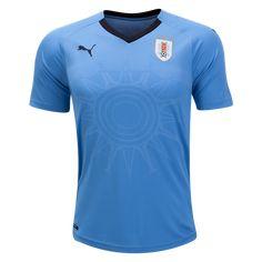 03069cbdb Uruguay 2018 World Cup Home Jersey by Puma Mls Soccer