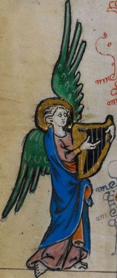 Detail from medieval manuscript, British Library Stowe MS 17 'The Maastricht Hours' f21v