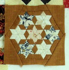 Blok 21 van 1865 passion sampler quilt