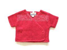 Ref. 800361- Chaqueta punto - IKKS- niña - Talla 3 meses - 11€ - info@miihi.com - Tel. 651121480