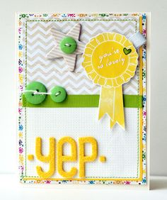 Yep - by Amy Heller using products from American Crafts.