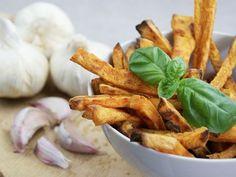 DIY-Anleitung: Süßkartoffel-Pommes im Backofen zubereiten via DaWanda.com