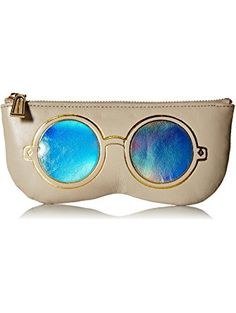 Rebecca Minkoff Mirrored Sunnies Pouch, Khaki ❤ Rebecca Minkoff Rebecca Minkoff Handbags, Gifts For Women, Sunnies, Pouch, Sunglasses, Sachets, Porches, Shades, Belly Pouch