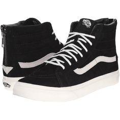 19fc10ad3067e4 Vans SK8-Hi Slim Zip Black Gold) Skate Shoes (€73) · White High Top ...