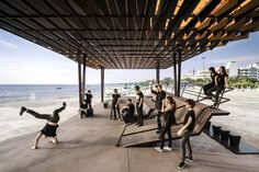 'The Flow' – A Multipurpose Pavilion / Department of ARCHITECTURE