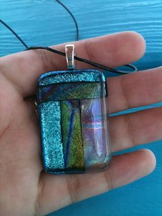 Fused Glass Necklace - gift for wife??