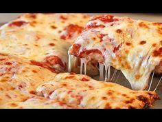 Pizza Napoletana Fatta A Mano E Cotta Nel Forno Di Casa Impasto Youtube Sicilian Pizza Food Craving Pizza