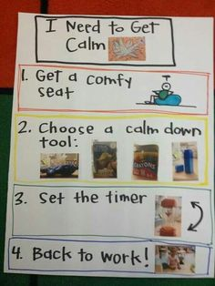 I really love the idea of a calm-down station. Teaching emotional self-regulation is a win for everyone.