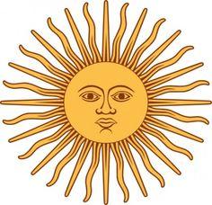 sol de la bandera argentina