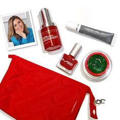 Our 1st beauty box is here! Jodi picked out her Fall favorites: Outcrease Retinol Trifecta Serum, Line Correction Eye Gel, Pore Revolution & T-Zone Mattifier, ME lacquer in Red-iculous and our Signature Cosmetic Bag! Learn more at dermelect.com! #exclusive #Dermelect #fall #beauty #beautybox