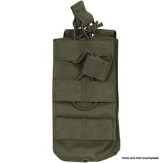 Viper Single Duo Mag Pouch - Green The Viper Duo Mag Pouch enables the user to stock magazines on most MOLLE panels The 600D Cordura enhances the smooth functionality