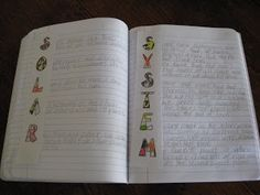 Science Notebook: Choose a key vocabulary word or phrase from the unit and have students fill it out throughout the unit as an acrostic with facts they learn.