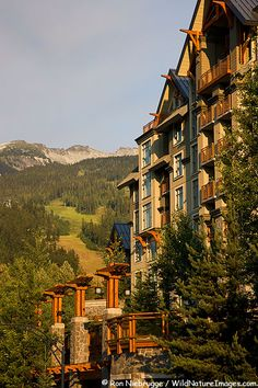 Pan Pacific Hotel in Whistler Village, Whistler, British Columbia, Canada