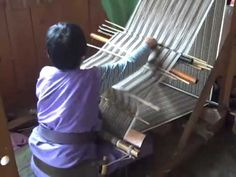 Bhutanese Weaving and Textiles--Backstrap Loom