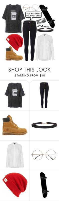 """You Make Me"" by intergalactic-fx ❤ liked on Polyvore featuring R13, River Island, Timberland, Humble Chic, Topshop, rag & bone, casual, grunge and 90s"