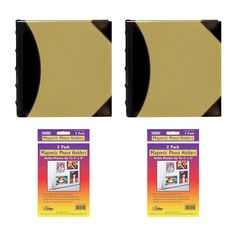Two Pioneer High Capacity Sewn Fabric and Leatherette Cover Photo Albums with Two Magnetic Photo Frames ** Check this awesome product by going to the link at the image. (This is an affiliate link and I receive a commission for the sales)