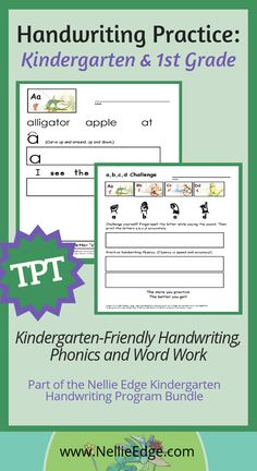 Differentiate learning Save time Printable templates for students using key Phonics symbols fingerspelling sentence practice This kindergartenfriendly handwriting progra. Kindergarten Handwriting, Kindergarten Drawing, Kindergarten Anchor Charts, Handwriting Practice, Kindergarten Teachers, Handwriting Ideas, Writing Center Preschool, Phonics Song, Guided Reading Lessons
