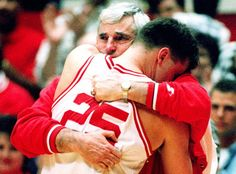The General...Bob Knight...Not a fan but got to give the man his props