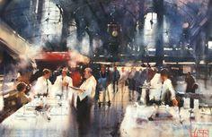 Galería de Arte Trino Tortosa | Galería  Álvaro Castagnet  #alvarocastagnet #acuarela #watercolor #galeriadeartetrinotortosa #ventadearte