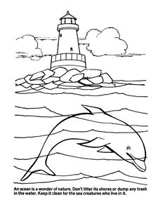 earth day coloring pages ocean ecology conservation