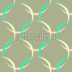 Springtime Mesh by Andreas Loher available for download as a vector file on patterndesigns.com Vector Pattern, Pattern Design, Vector File, Surface Design, Spring Time, Circles, Mesh, Patterns, Block Prints