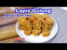 Wuuuaaaw...Lapis Gulung Hanya 7 Butir Telur👍Enak Banget - YouTube Lapis Legit, Muffin, Rolls, Layers, Favorite Recipes, Make It Yourself, Breakfast, Cake, Youtube