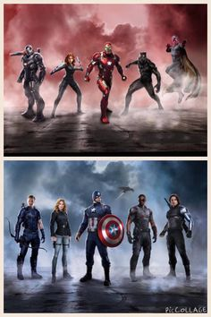 Civil War Marvel Movie Teams