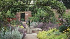 Kitchen garden at Beningbrough Hall and Gardens English Gardens