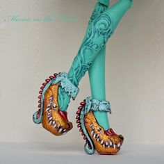 Shoes custom Honey Swamp