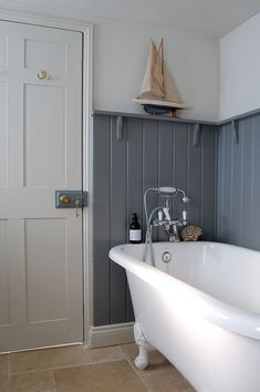 Sunshine is forecast for North Norfolk today which is a blessing as I need to update some photography at the cottage. Family Bathroom, Downstairs Bathroom, Master Bathroom, Master Baths, Bathroom Vanities, Two Drawer Dishwasher, Electric Oven And Hob, Roll Top Bath, Bathroom Inspiration