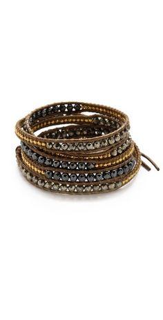 Chan Luu Pyrite Wrap Bracelet | SHOPBOP