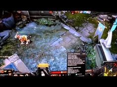 #Dota 2 Ultra Gameplay as Warlock Character on the #Alienware Alpha i3