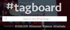 Comment rechercher un mot-clef dans plusieurs réseaux sociaux en même temps ? (outil gratuit) | tagboard