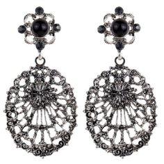 Amazon Tibetan Dangle Earrings